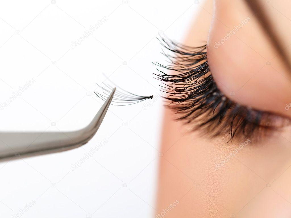 Royalty Free eyelash extensions images ...