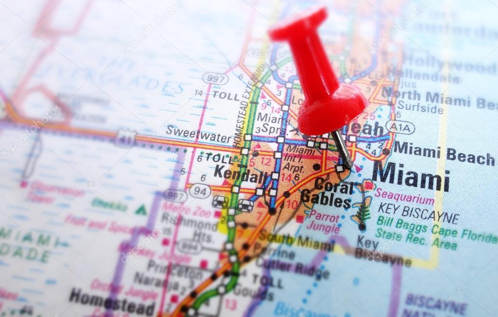miami térkép Miami Térkép — Stock Fotó © zimmytws #42731105 miami térkép