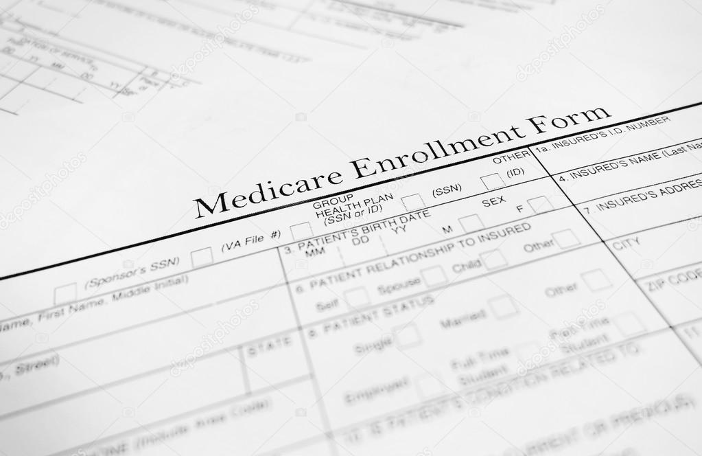 Medicare Form  Stock Photo  Zimmytws