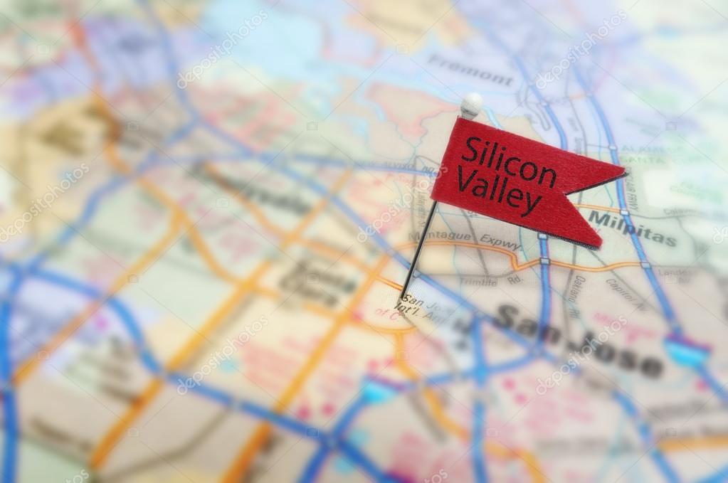 Silicon Valley Karte.Silicon Valley Stockfoto C Zimmytws 51484209
