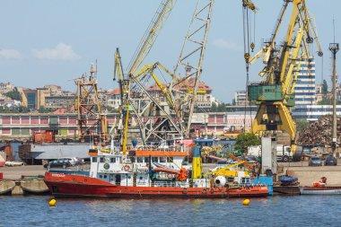 Constanta port shipyard