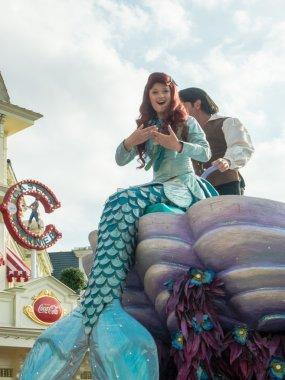 Ariel the little mermaid at Disneyland Paris
