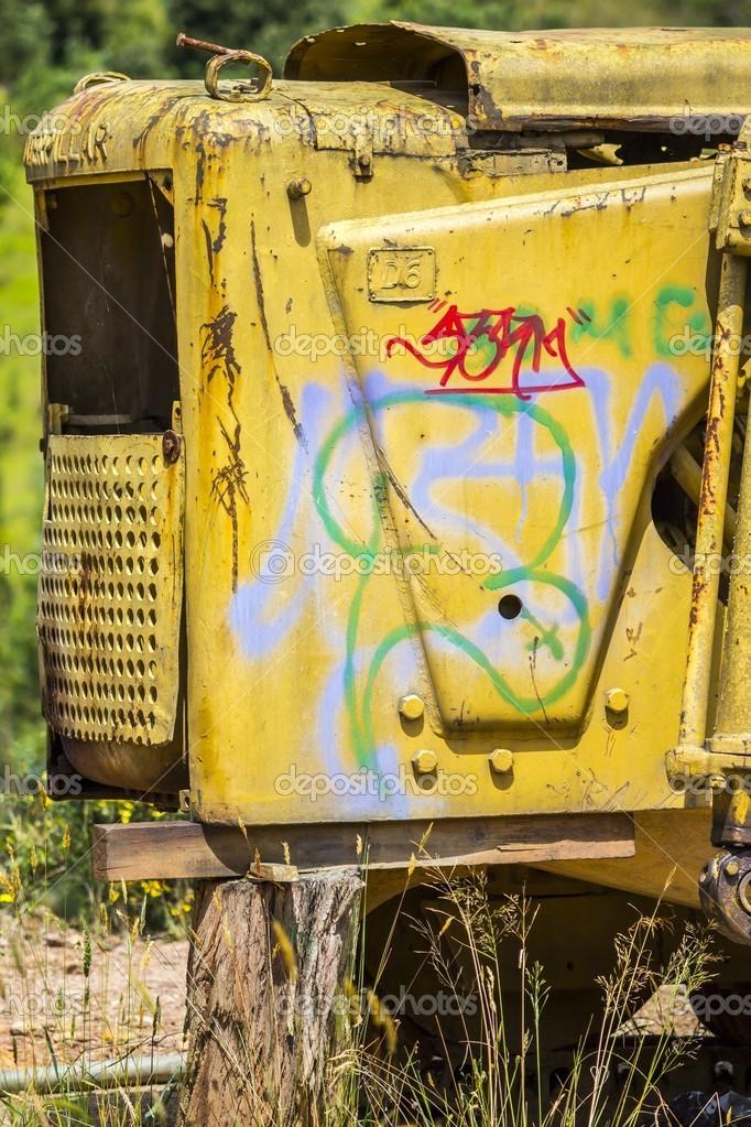 Junk Abandoned Machine — Stock Photo © juvelez #18187087