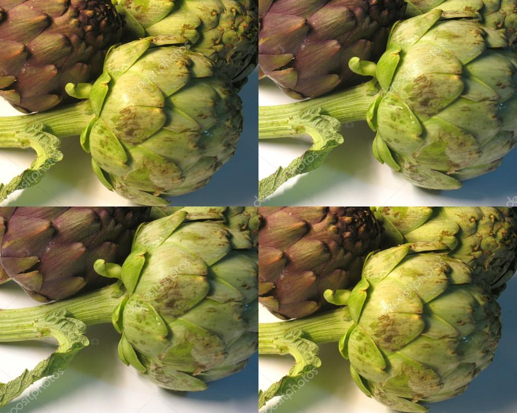 Raw artichokes (no edge)