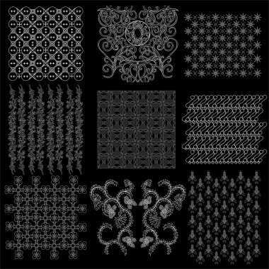 complete collection set of javanese pattern batik 1