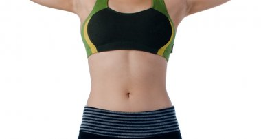 Sexy woman diet body shape