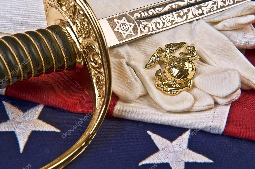 Us Marine Corps Symbols Stock Photo Alancrosthwaite 13878599