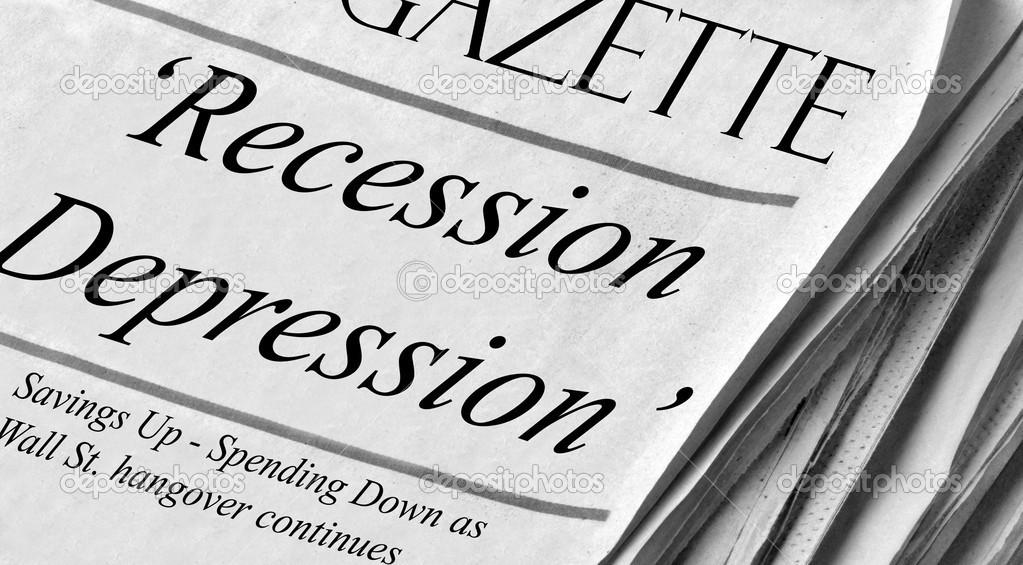 Не путайте депрессию с рецессией
