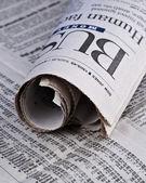 obchodní sekce noviny