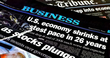 Positive Newspaper headlines
