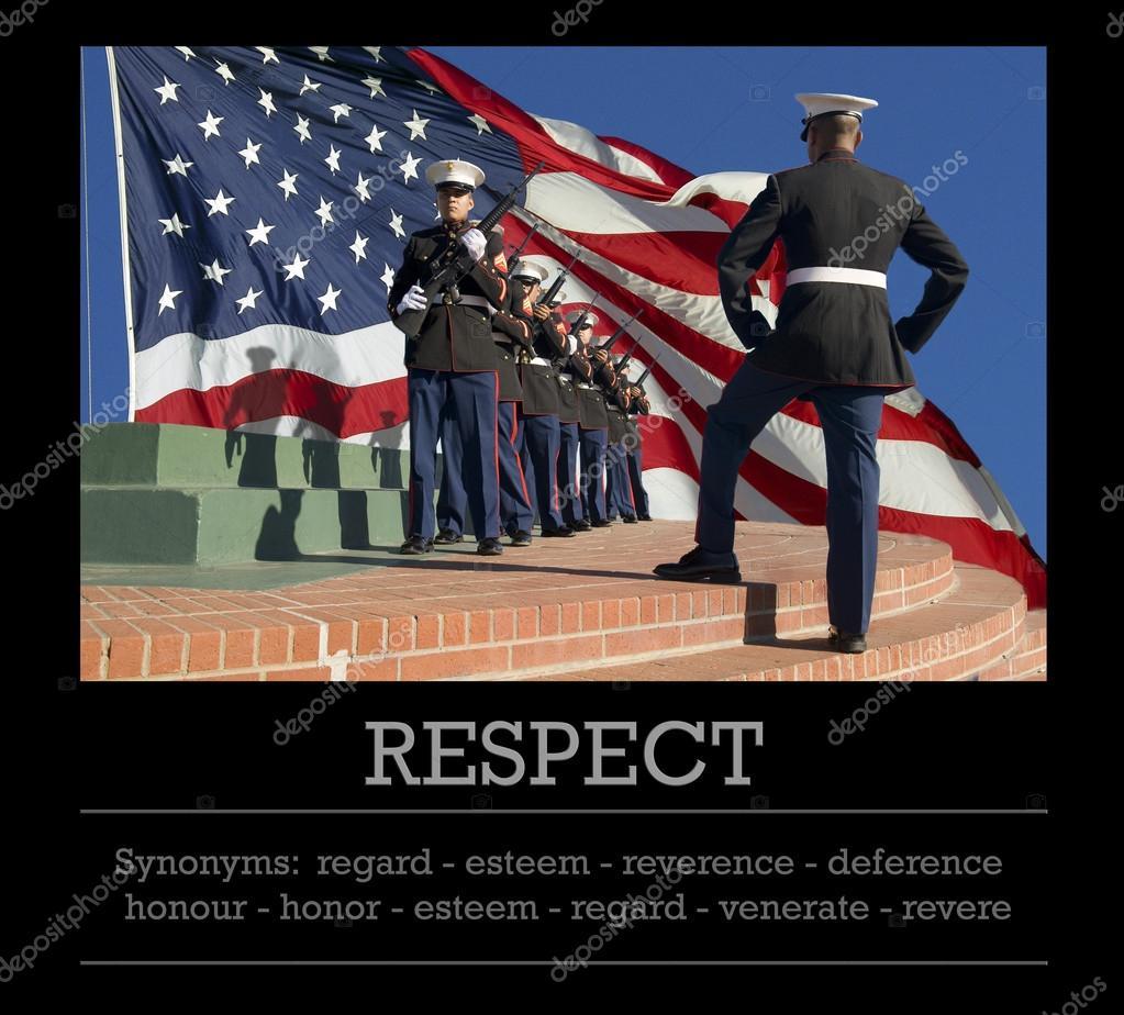 synonym respekt