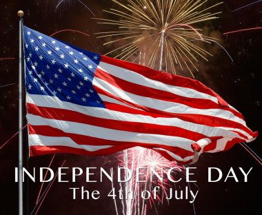 Happy 4th of July. Independence day