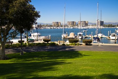 Park view of a Marina
