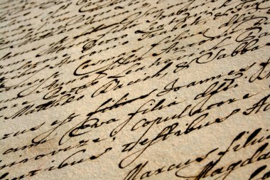 beautiful vintage handwriting