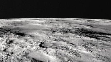 the lunar surface