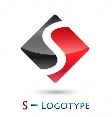 Logo initial letter S # Vector