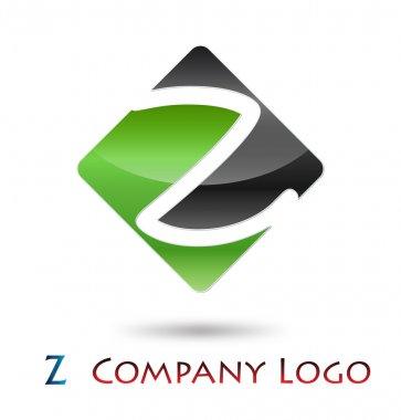 Logo initial letter Z # Vector