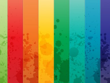 Colorful Background with vertical lines