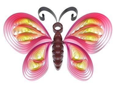 """Картина, постер, плакат, фотообои """"красочная бабочка """", артикул 24050501"""