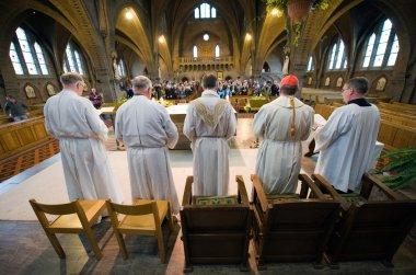Mass in church