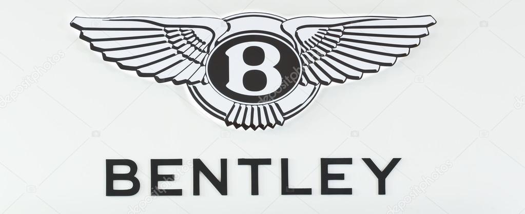 NONTHABURI - DECEMBER 1 : Logo of Bentley car on display at The