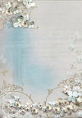 Fotografia cornice di fiori