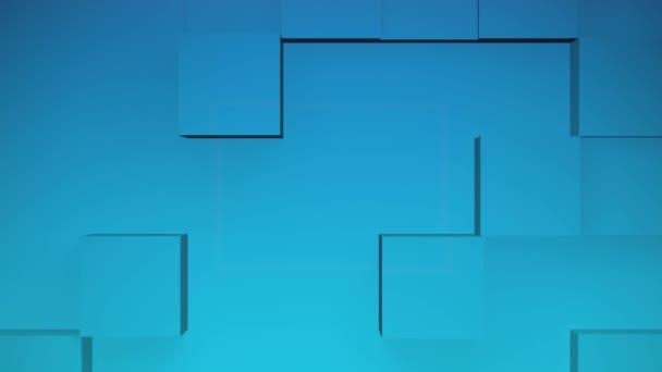 modré kostky animace