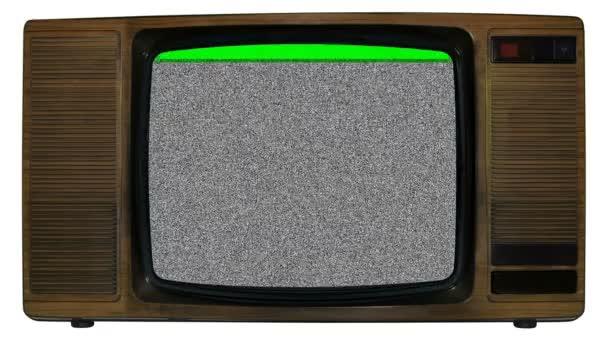 alte statische Fernsehen