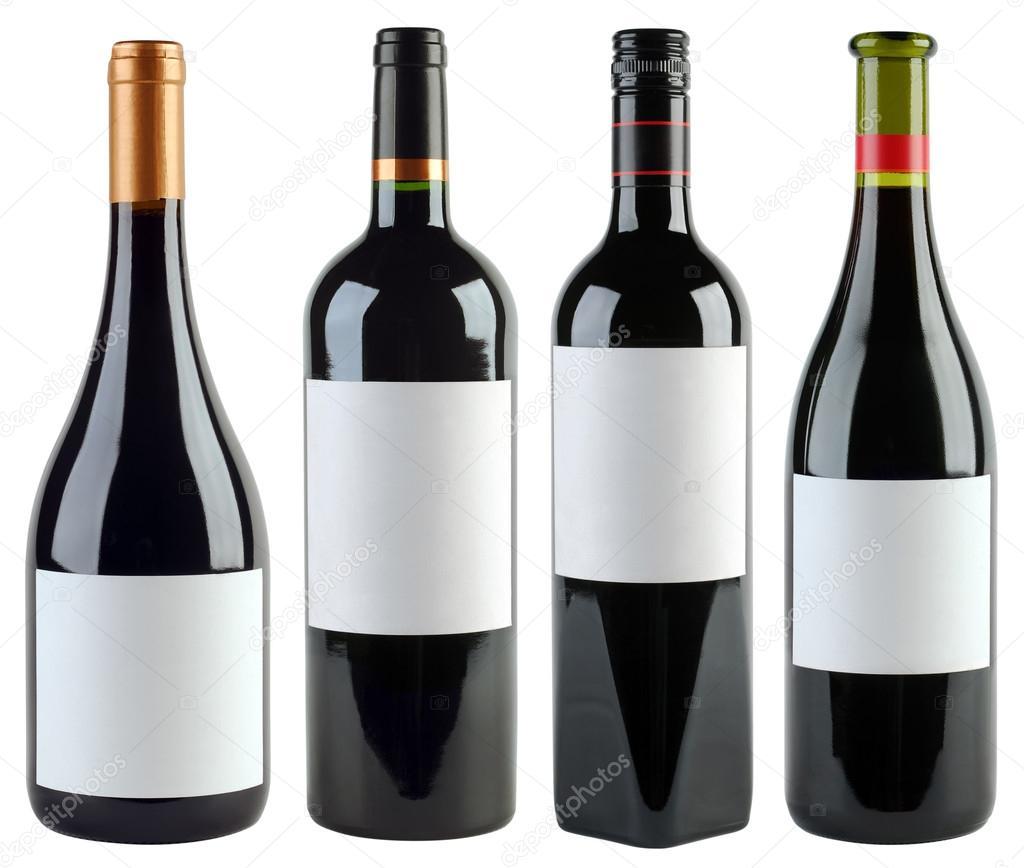 wine bottles template stock photo suljo 21090273