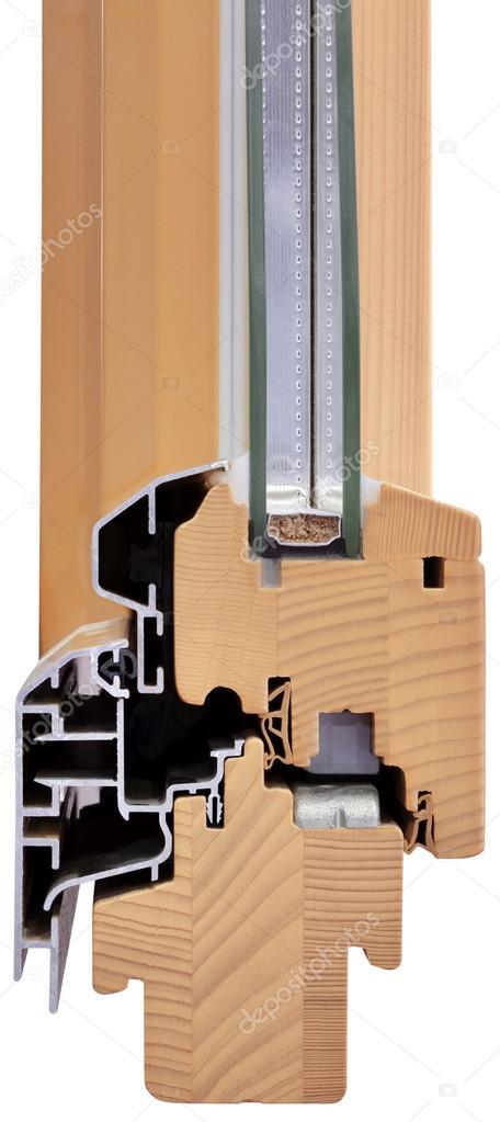 Cross Section of Window Cutout