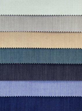 Cold Tones Fabric Samples