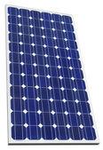 Solární fotovoltaické výřez