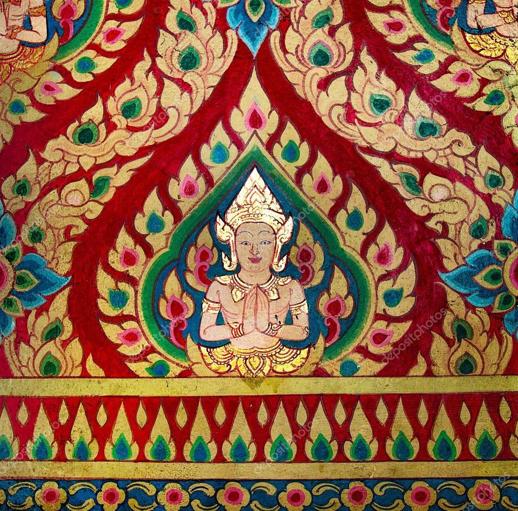 Imagenes Pintura Al Temple Pintura De Deva En Pared De La Temple