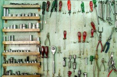 Equipment tools on board