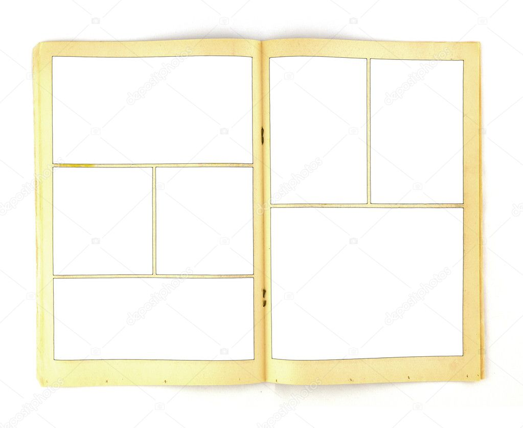 Vintage comic book background template stock photo deberarr vintage comic book paper background template photo by deberarr pronofoot35fo Gallery