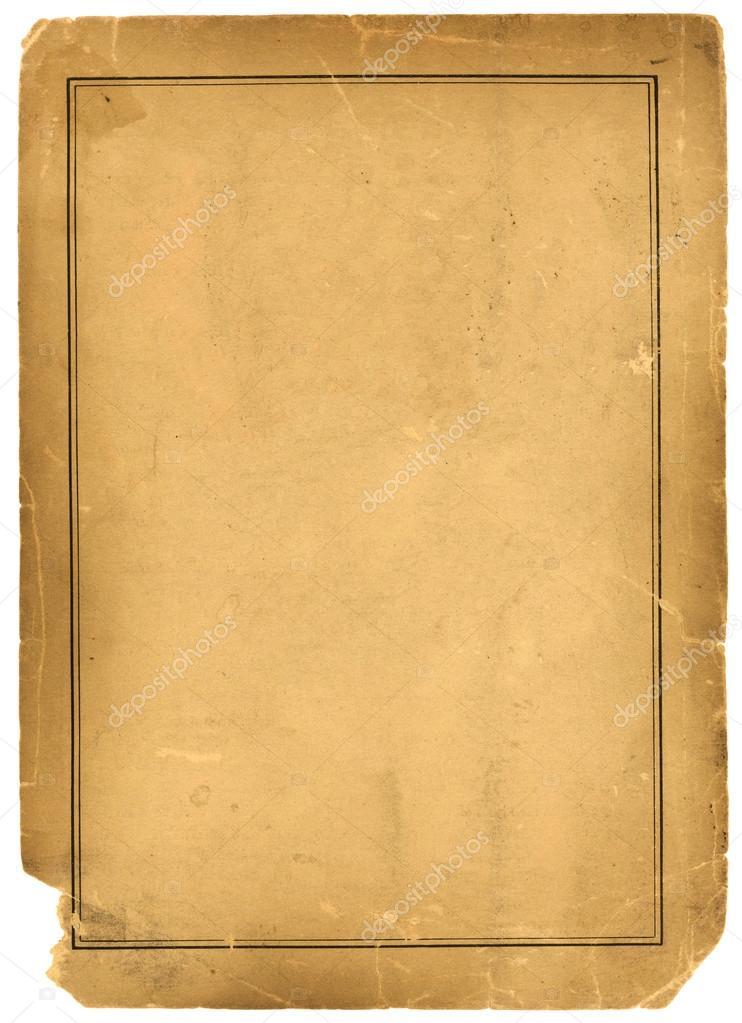 foto de 1800s Antique Parchment Paper Background Texture — Stock Photo ...