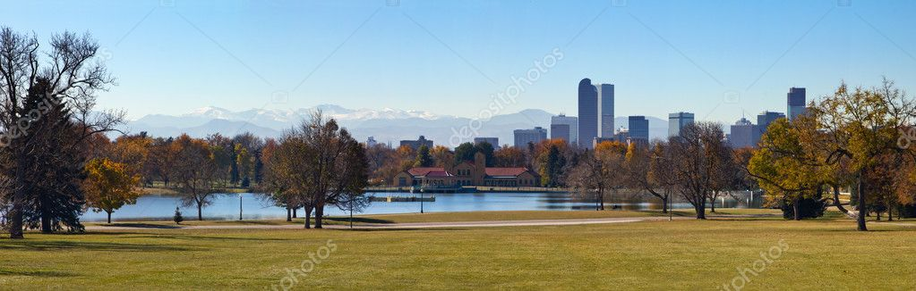 Denver Colorado - City Park in Fall