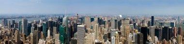 New York City - Panoramic Manhattan Skyline From Above