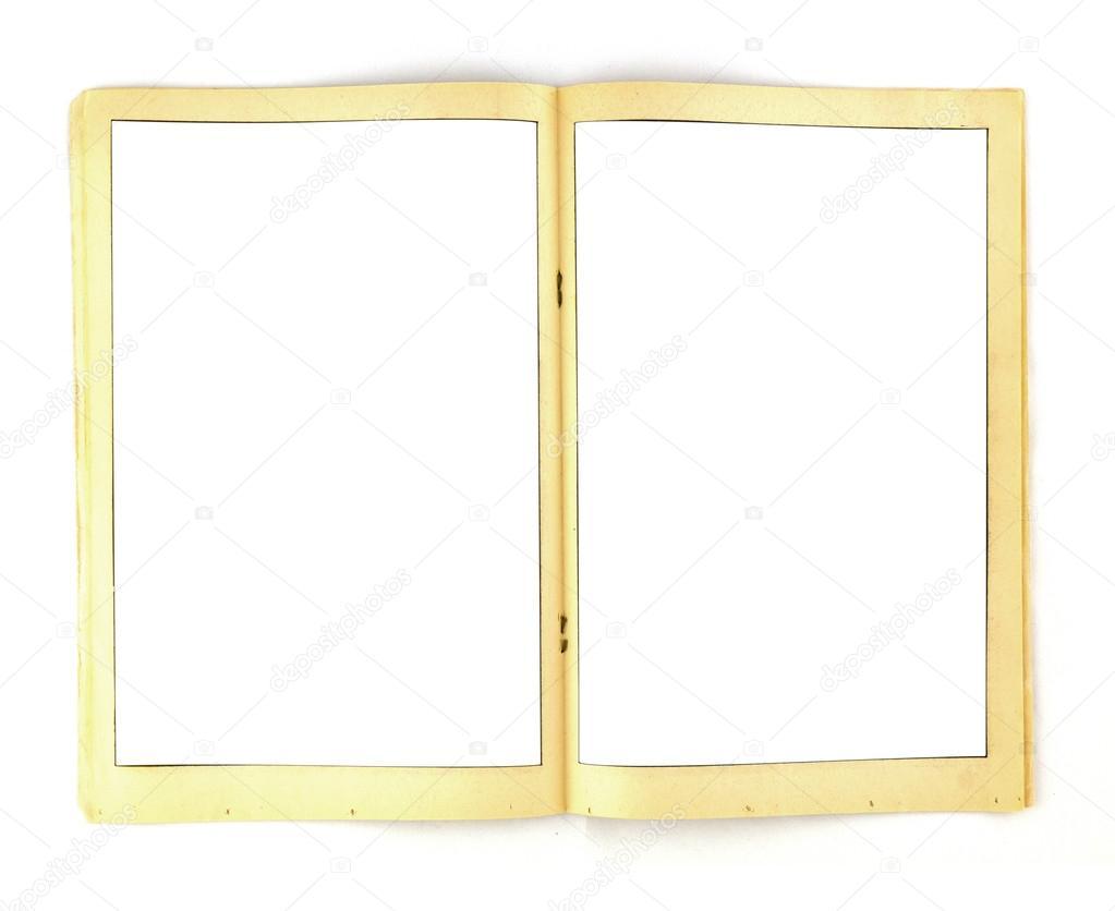 Vintage Comic-Buches Rahmen Hintergrund Vorlage — Stockfoto ...