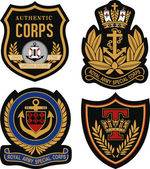 Fotografia scudo di Royal emblema distintivo