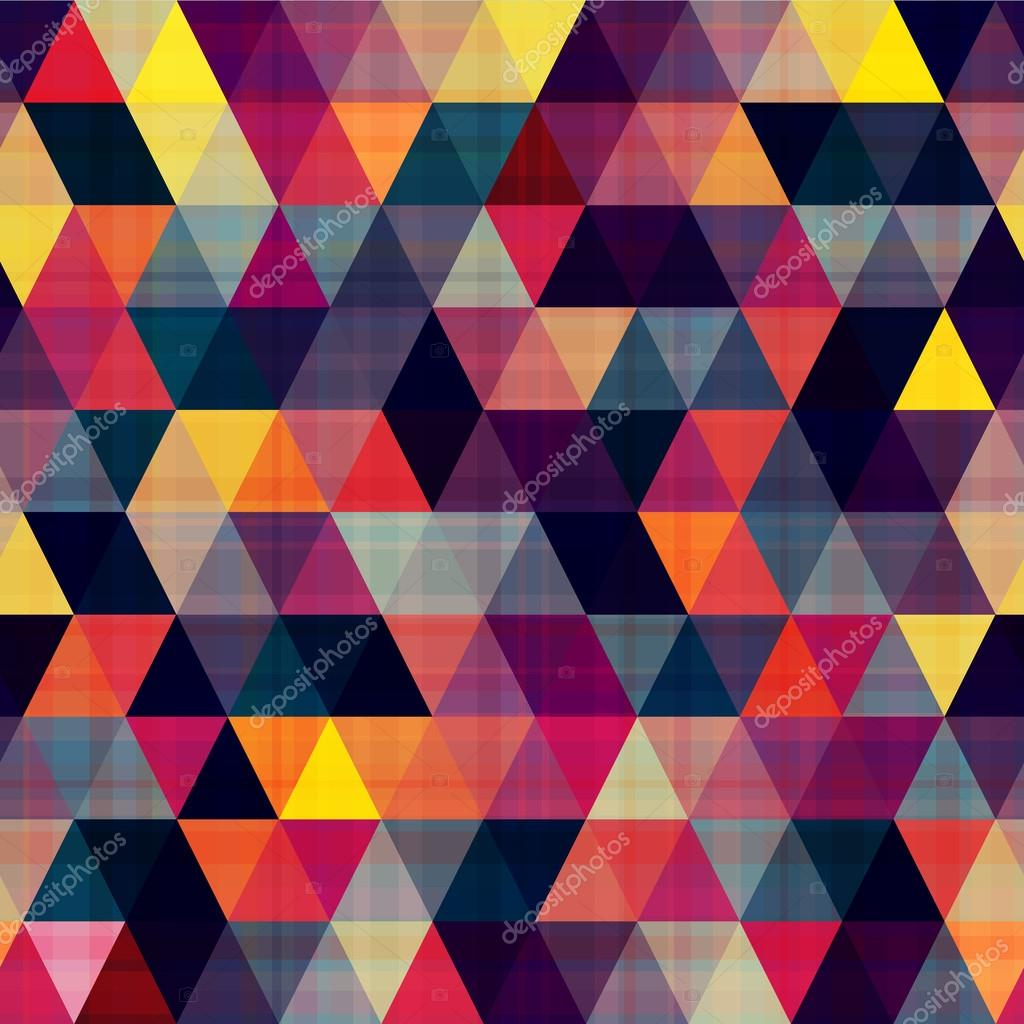 Triangle Quilt Pattern Texture Photos : seamless triangle background Stock Vector ? pauljune #30939799