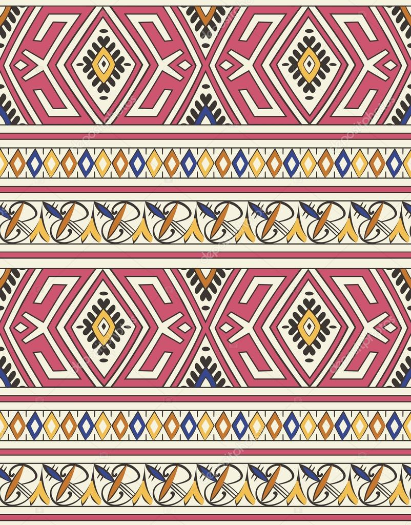 Seamless islamic moroccan floral pattern