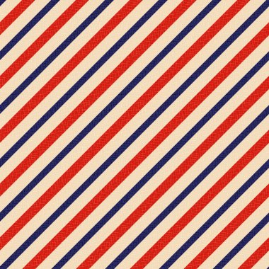 Seamless patriotic stripes background