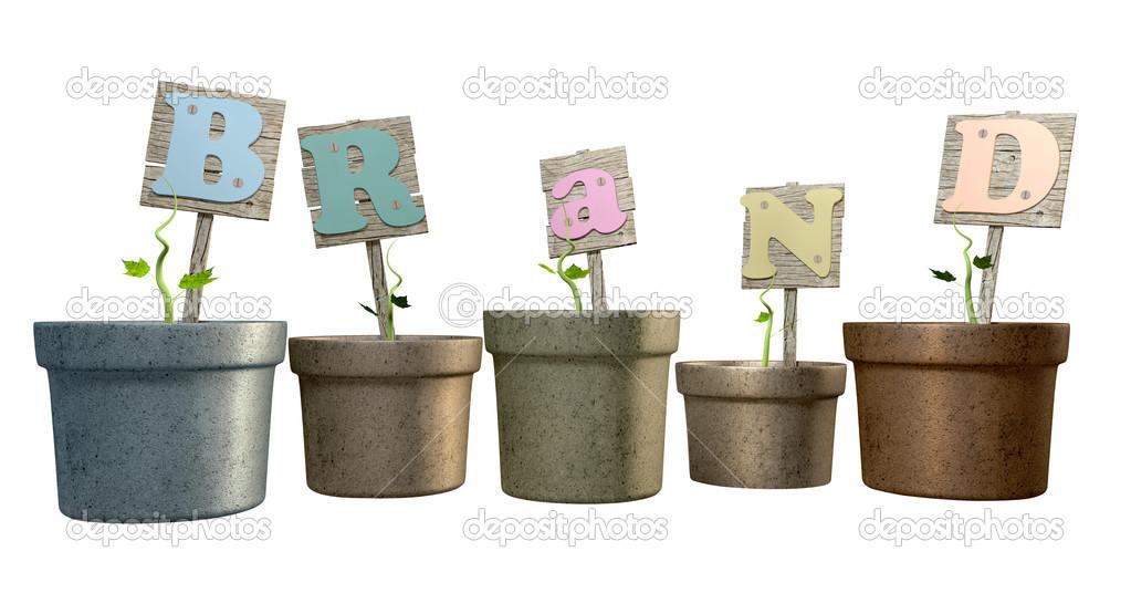 Grow Your Brand Flowerpot