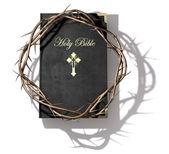 Biblia és a koronát a tövis