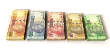New South African Rand Notes