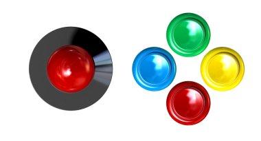 Arcade Control Joystick And Buttons