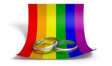 Save The Date Rings And Gay Paper