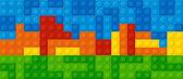 plastové stavební bloky