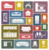 Photo Furniture icon set
